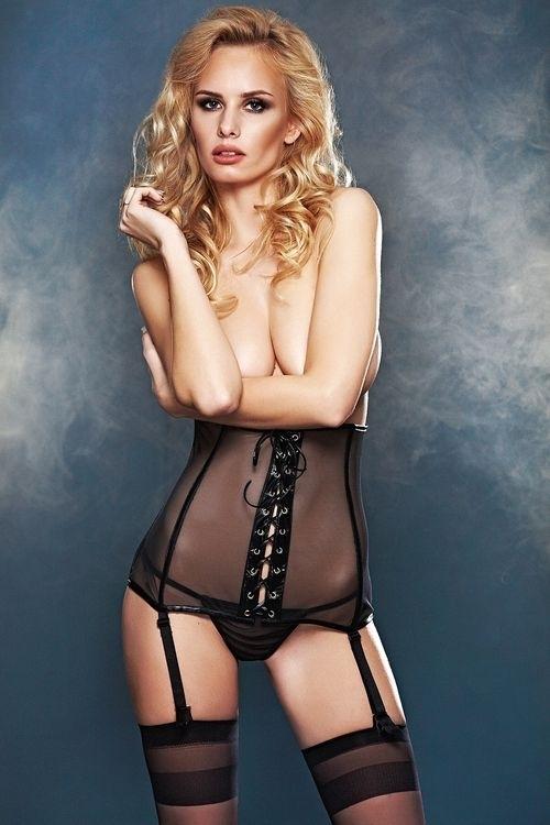 Erotická souprava Bailey - L - černá