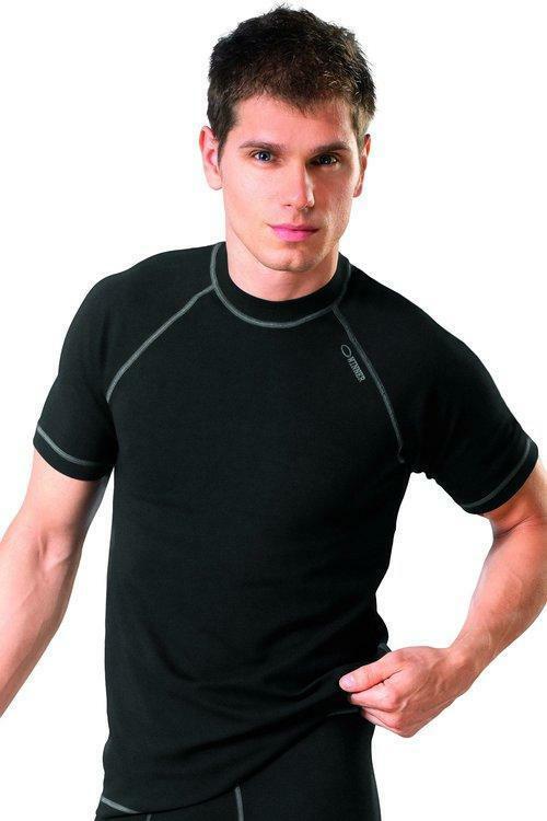 Pánské triko Classic V black - S - černá