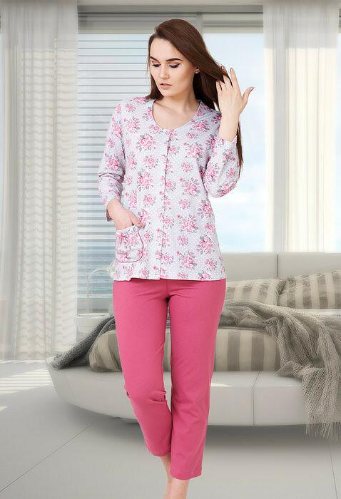 Pyžamo M-Max Inga Plus Size 557 dł/r