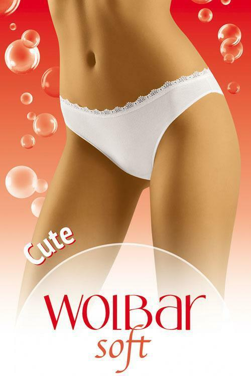 Kalhotky Wol-Bar Soft Cute - M - černá