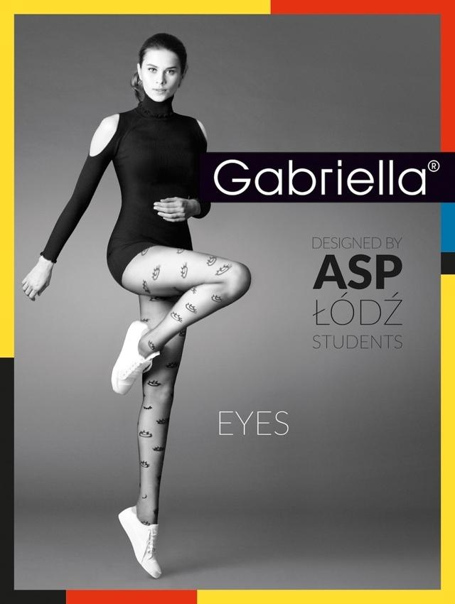 Dámské punčochy Eyes 20 den / code 380 - Gabriella - 3 - černá