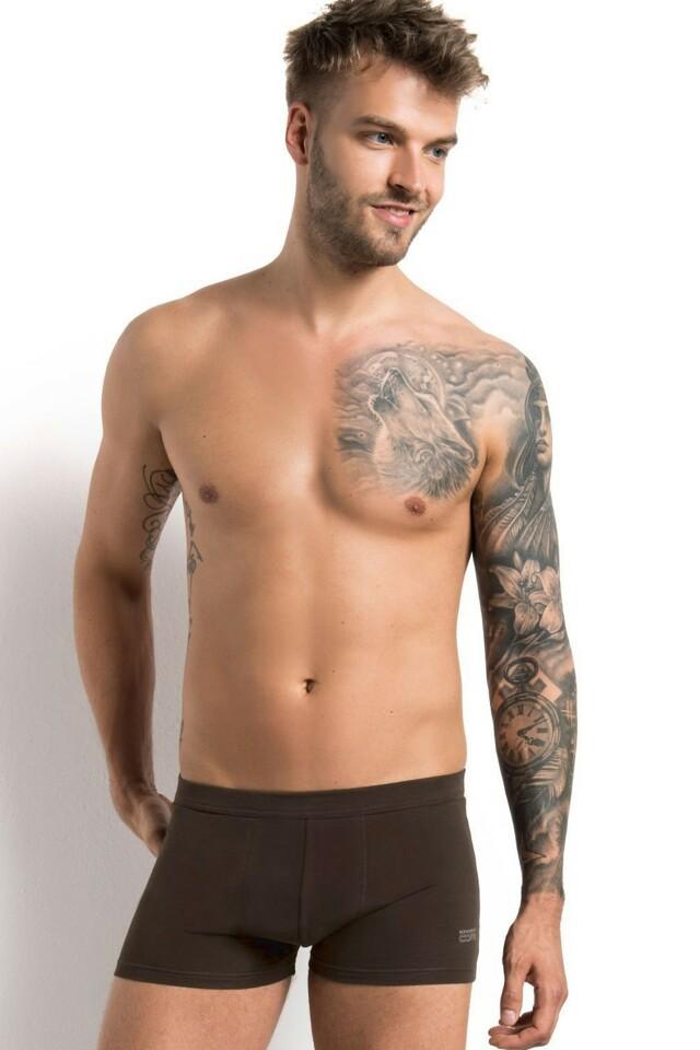 Pánské boxerky 22052 brown