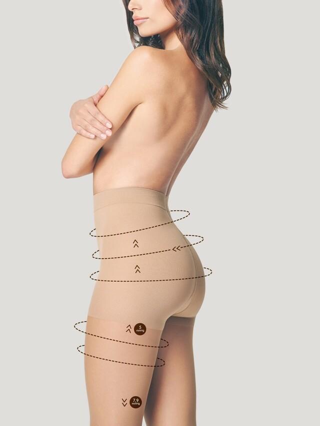 Punčochové kalhoty Fiore Body Care Comfort M 5100 20 den 5-XL - 5-XL - light natural/odstín béžové