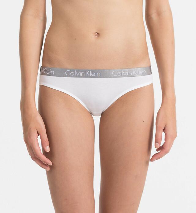 Kalhotky QD3540E-100 bílá - Calvin Klein