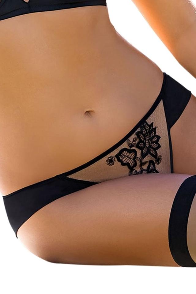 Dámské kalhotky Mehendi pants black - M - černá