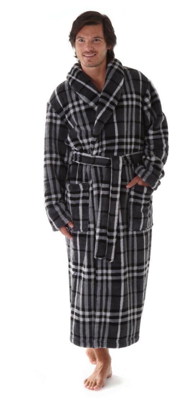 Pánský župan Gordon 2132 - vestis - XL - šedá