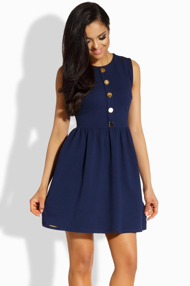 Dámské šaty Lemoniade L203 - S - červená