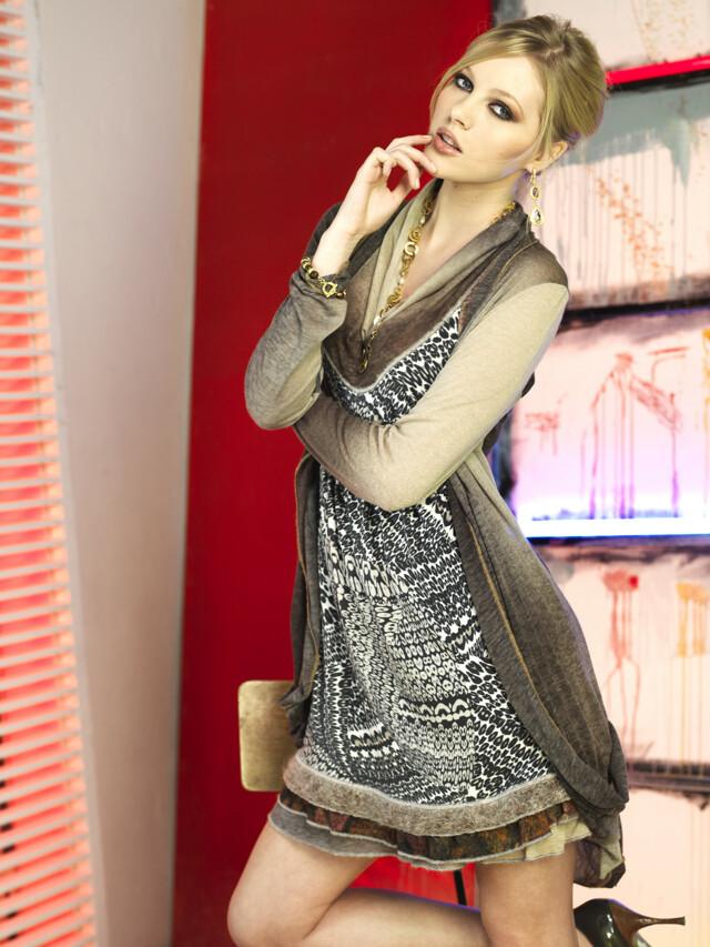Dámské šaty R3400 - Roberto Naldi - 40 - originál