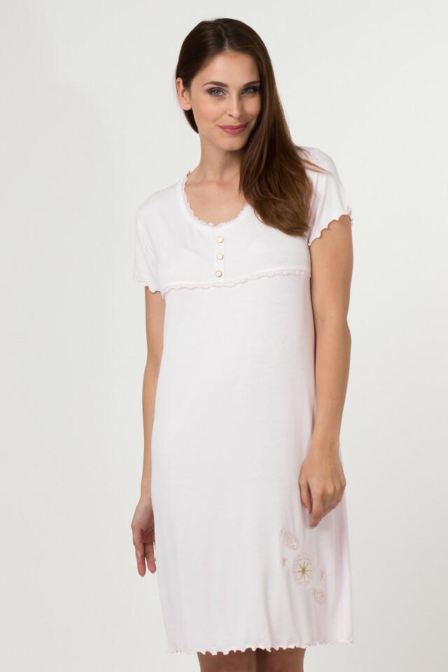 Dámská noční košile 11507 - Sabrina - L - světle zelená