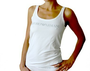 Dámské tílko - Emporio Armani - S - bílá