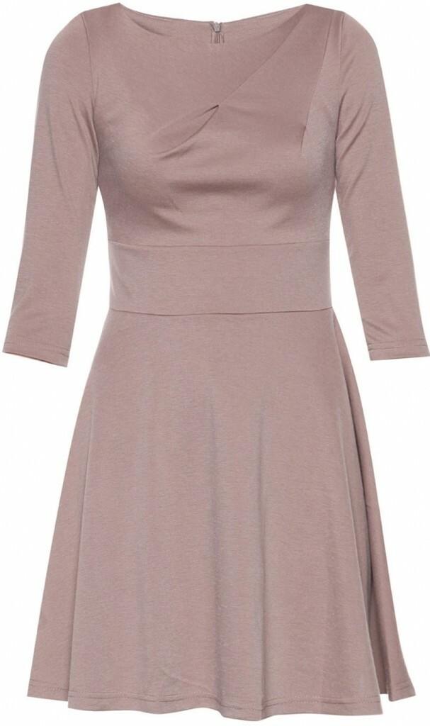 Dámské šaty M081 - Figl - 38 - mocca