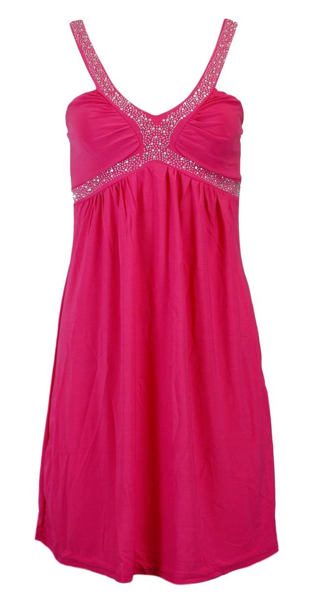 Dámské šaty In-Stylefashion 5336 - Gemini - XS - fuchsia