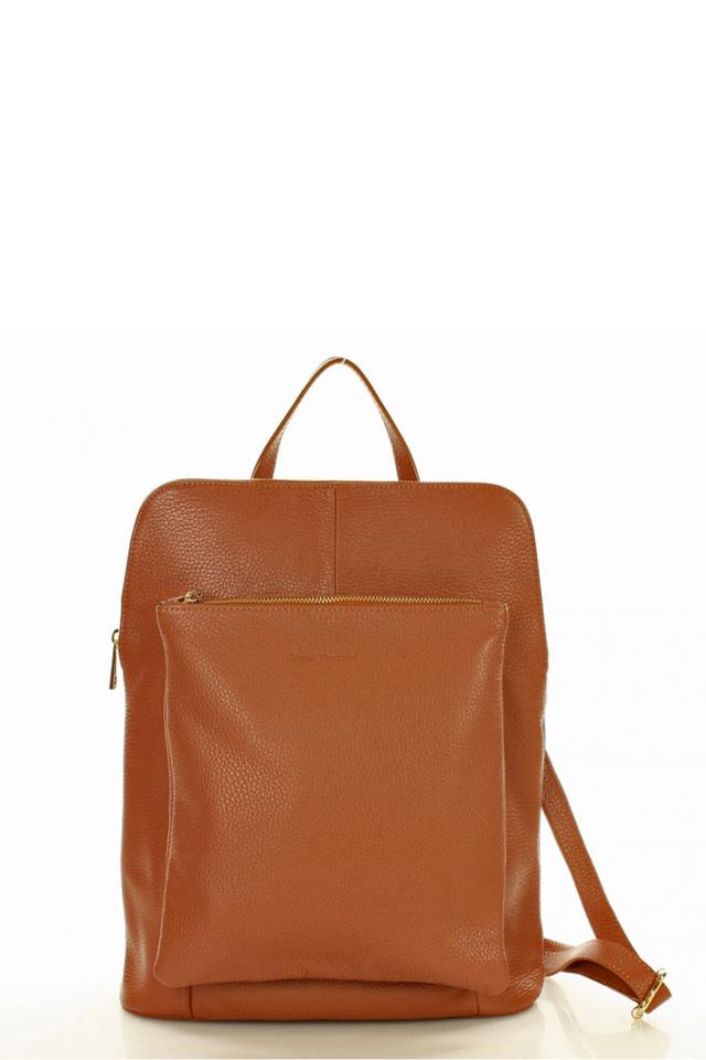 Přírodní kožená taška model 127665 Mazzini - univerzální
