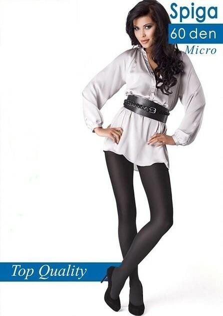 Punčochové kalhoty Mona Spiga 60 den - 4-L - odstín béžové