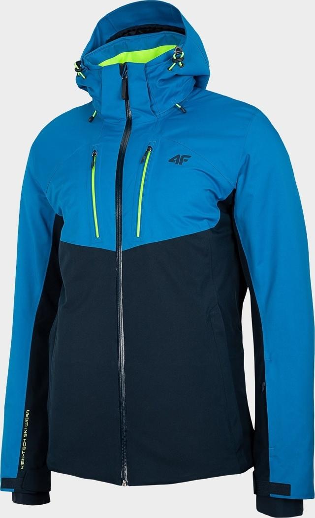 Pánská lyžařská bunda 4F KUMN258R Modrá - S - Modrá
