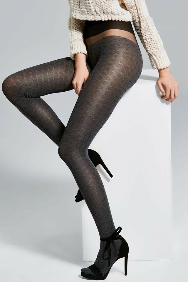 Dámské punčochové kalhoty Fiore Hola 40 DEN - 2-S - melange