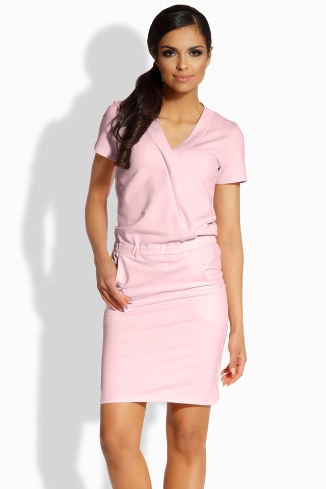 Dámské šaty Lemoniade L196 - L - béžová