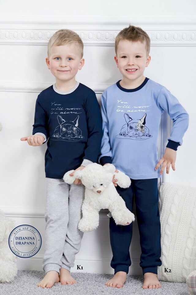 Chlapecké pyžamo 859 blue