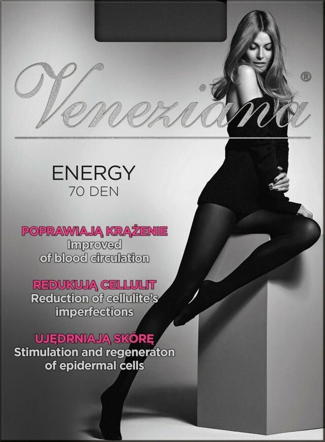 Punčocháče Veneziana Energy 70 den