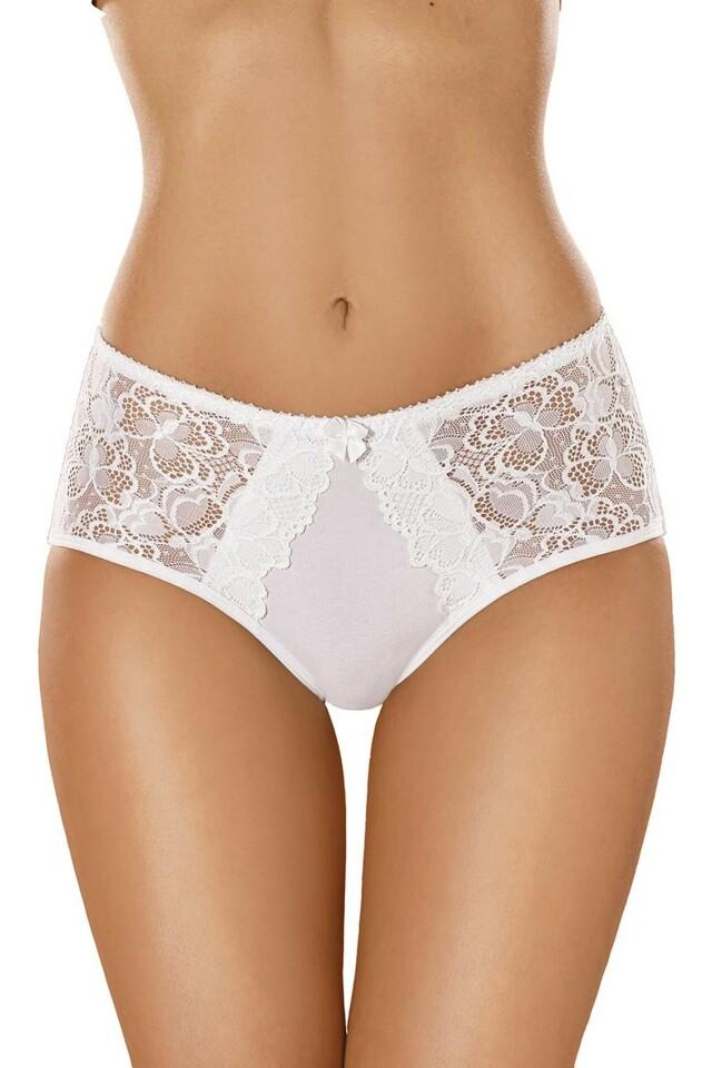 Dámské kalhotky 101 white - XXL - bílá