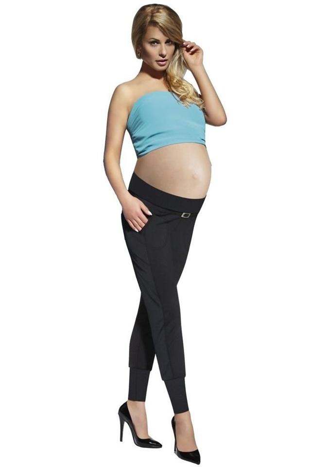 Těhotenské legíny Catrine 200 DEN černé - M