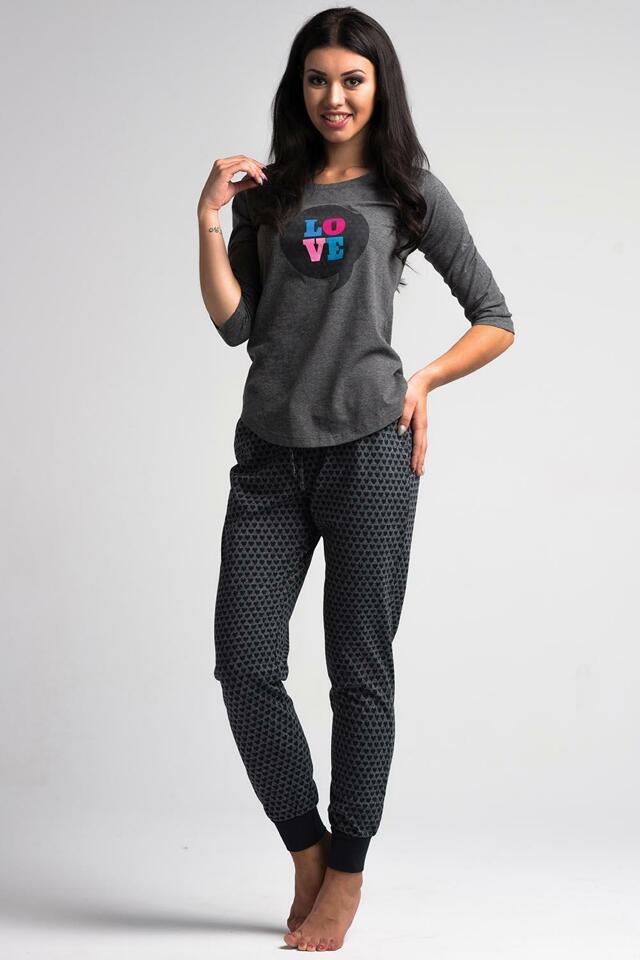 Dámské pyžamo Rossli SAL-PY 1024 - XL - růžová