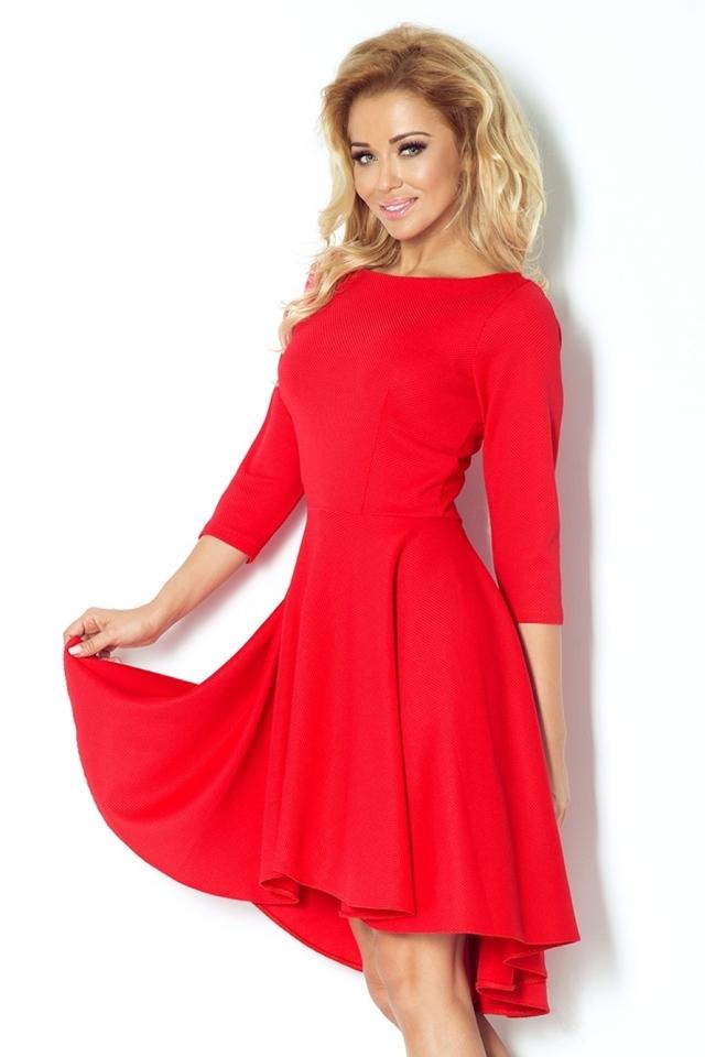 Dámské šaty 90-4 - L - červená