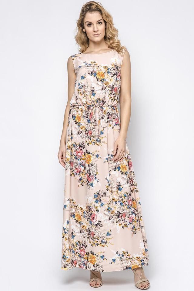 172f15764ff3 Dámské šaty Ennywear 230176 - 40 - růžová-multikolor