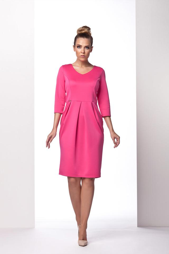 Denní šaty model L 104 Lemoniade - L - fuchsia