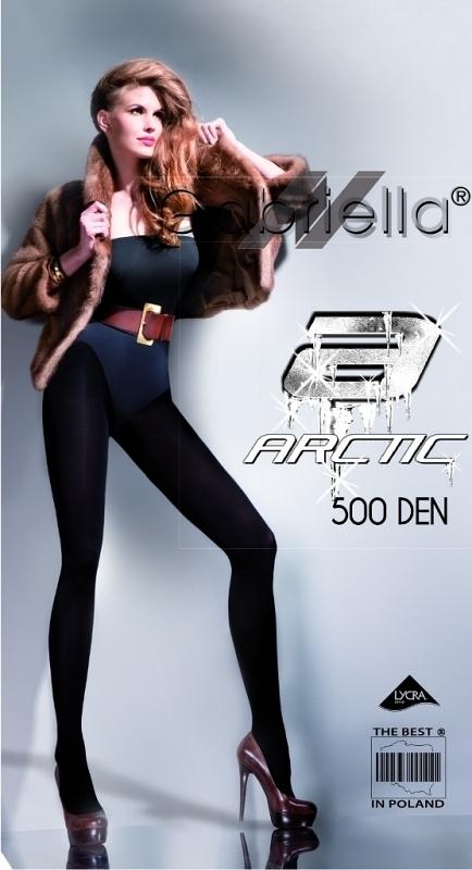 Dámské punčochové kalhoty Gabriella Arctic 159 500 den - 2-S - černá 0ba09000dd