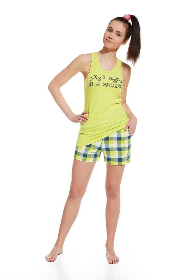 Dívčí pyžamo 292/23 More - 176/L - seledýnová