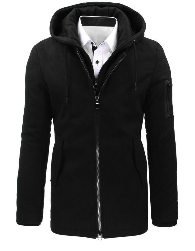 Pánský zimní kabát RBM-4831 (cx0358) - Nature - M - černá