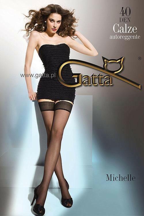 Punčochy samodržící Michelle 40 - Gatta