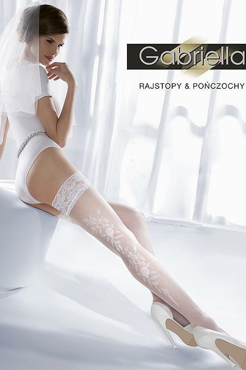Dámské svatební punčochy Gabriella Wedding Princessa 06 Code 190