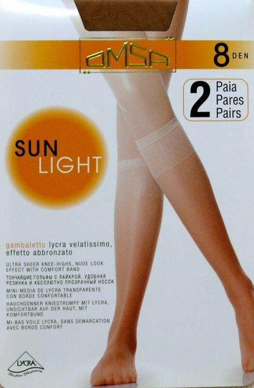 Podkolenky Omsa| Sun Light 8 den A`2
