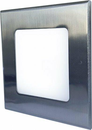 Vestavné bodové svítidlo 230V GR GXDW077 LED30 VEGA-S Matt chrome 6W WW VEGA-S
