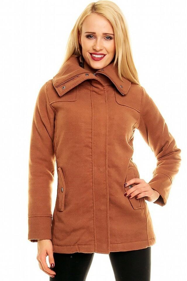Dámský zimní kabát - S