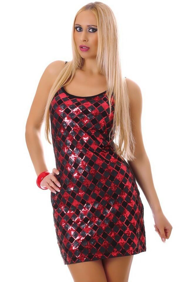 Flitrové párty šaty