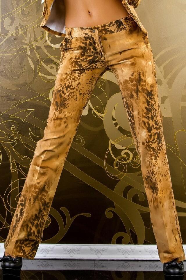 Dámské manšestrové kalhoty