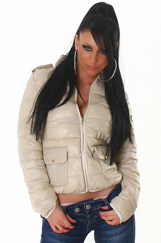 Zimní dámská bunda - L