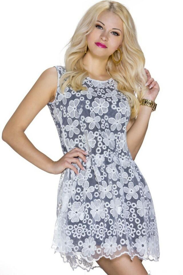 Krátké letní šaty - M