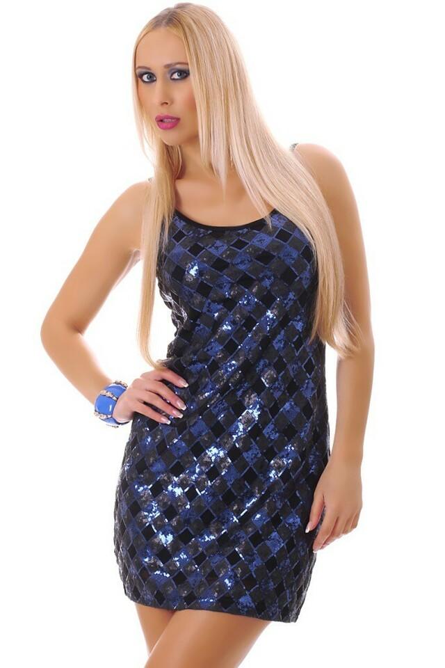 Flitrové párty šaty - M