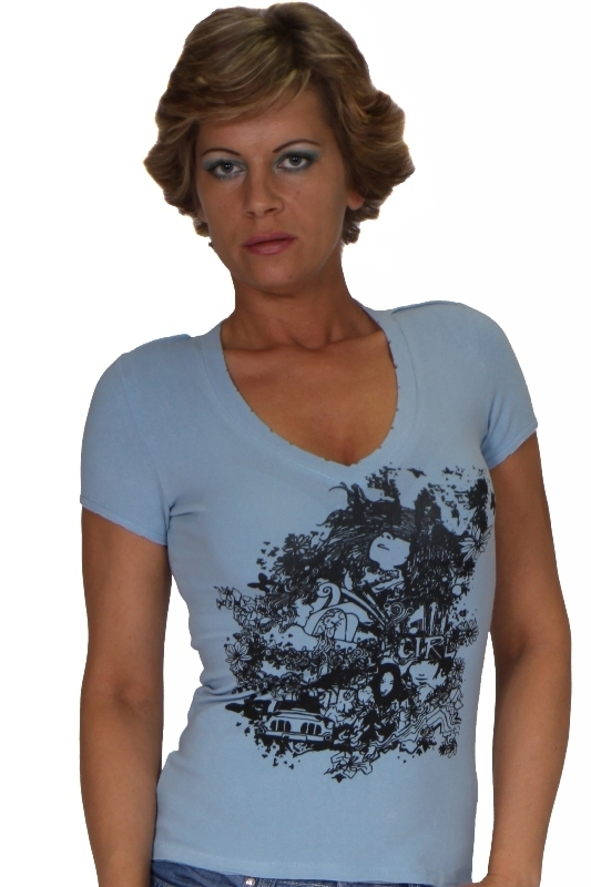 Slevy - Tričko dámské s potiskem
