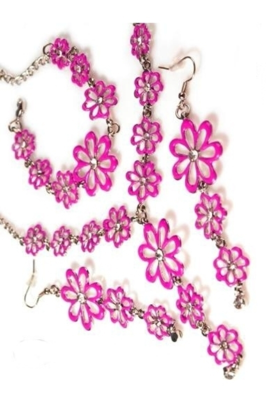 Sada náhrdelník, náramek a náušnice