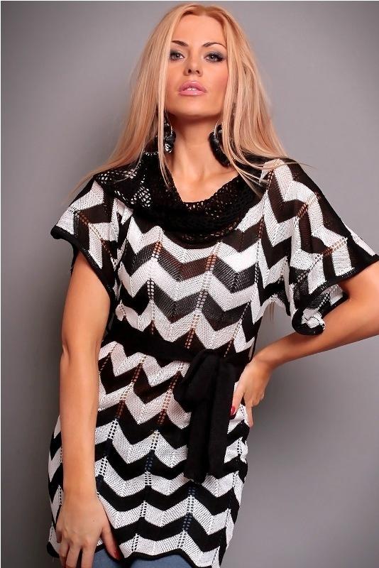 Dámský pletený svetr - S/M