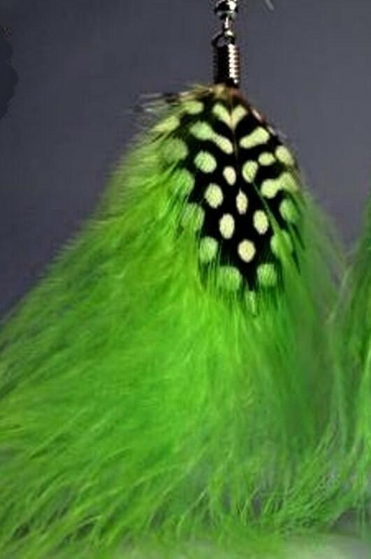 Peříčkové náušnice