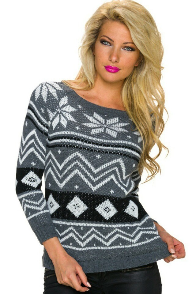 Pletený svetr - S/M