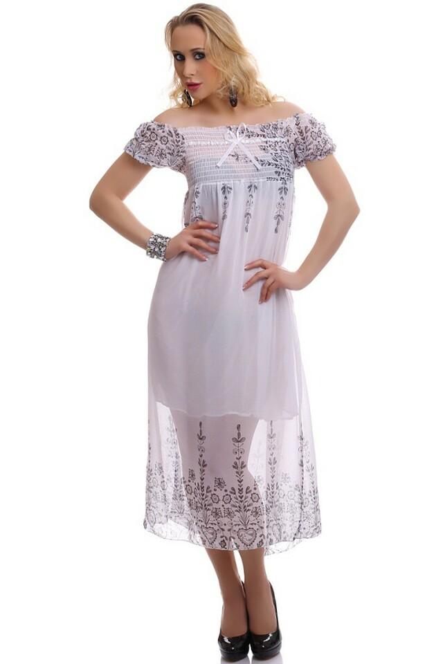 Dlouhé letní šaty - S/M