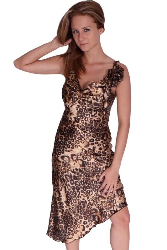 Elegantní šaty do společnosti - M