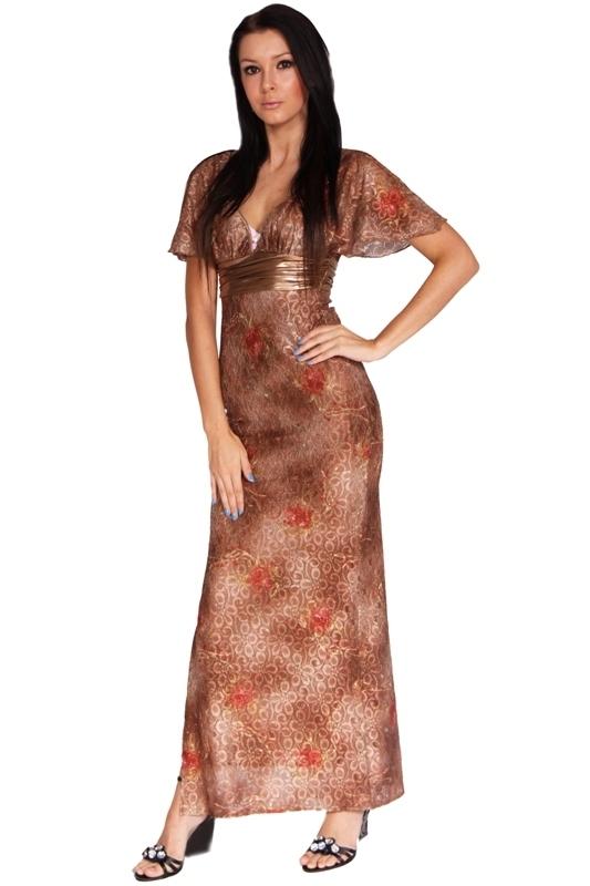 Zlevněné plesové šaty dlouhé - XS